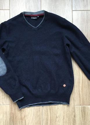 Полувер кардиган свитер шерсть