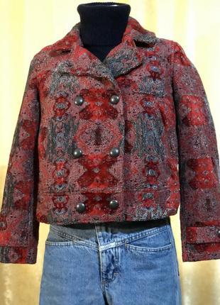 Короткое пальто косуха осень зима