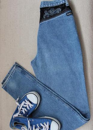Винтажные джинсы с высокой посадкой, оригинал