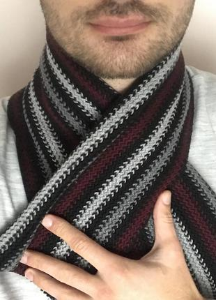 Теплий шарф