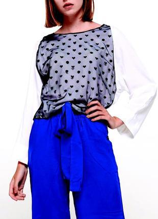 Блуза в горошек yan yenz llc (usa)