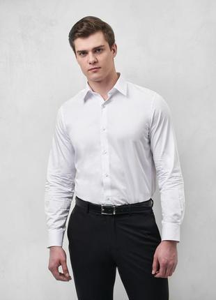 Рубашка сорочка базовая modern fit