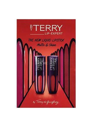 Набор пробников помад by terry lip-expert