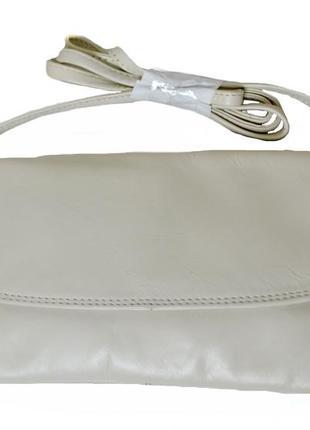 Кожаная женская маленькая сумочка . код п38350