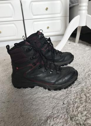Зимние ботинки ecco gor-tex