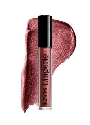 Жидкие тени для век nyx lid lingerie eye tint