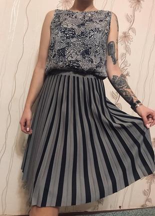 Трендовая юбка миди