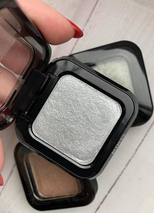 Серебристые тени с эффектом ультраметаллик kiko milano magnetic