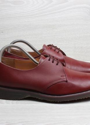 Кожаные туфли dr. martens vintage англия, размер 40 (cherry)