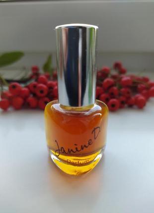 Muelhens janine d., винтажная миниатюра, parfum/чистые духи, 7 мл