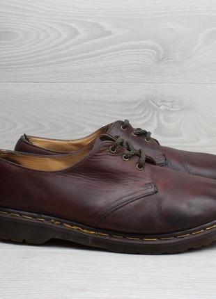 Мужские кожаные туфли dr. martens оригинал, размер 45
