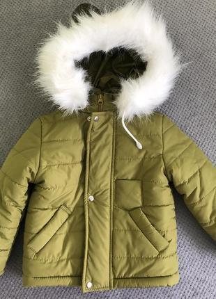Комплект куртка на овчине полукомбинезон