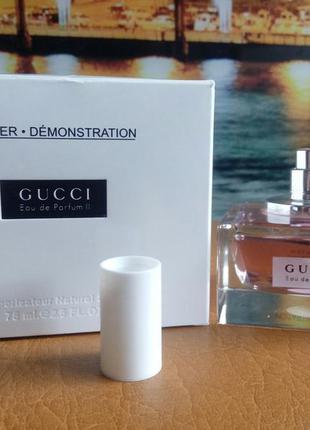 Парфюмированная вода gucci eau de parfum 2 , тестер