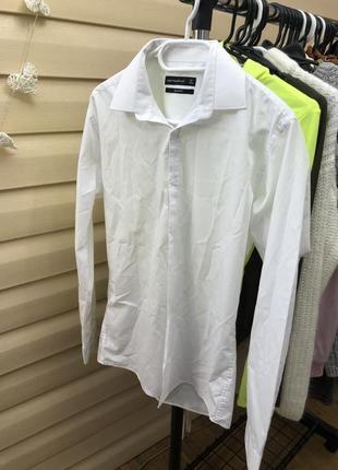 Базовая классическая белая рубашка
