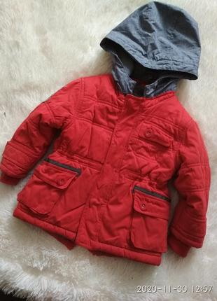 Зимняя парка, куртка на 2-3 г, 92-98 см
