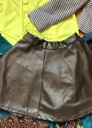 Плотная юбка нарядная
