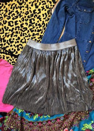 Нарядная юбка плиссе