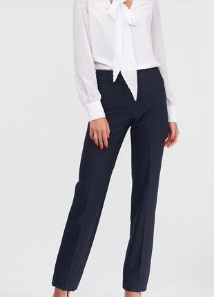 Классические, ровные брюки, george, 10 размер