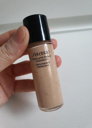 Тональный крем от shiseido