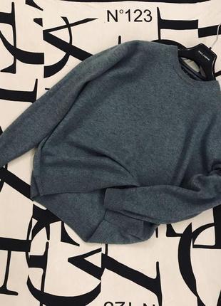 Тёплый свитер/джемпер в мягчайшей фактуре из шерсти мериноса🎩