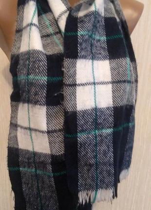 Чоловічий шарф теплий.