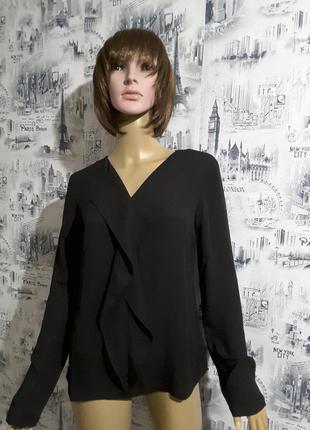 Чёрная блуза s.oliver uk 6