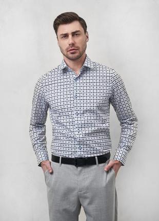 Рубашка сорочка с принтом