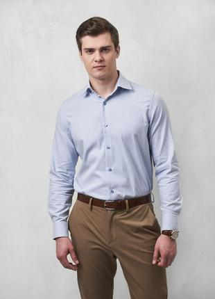 Рубашка в полоску modern fit