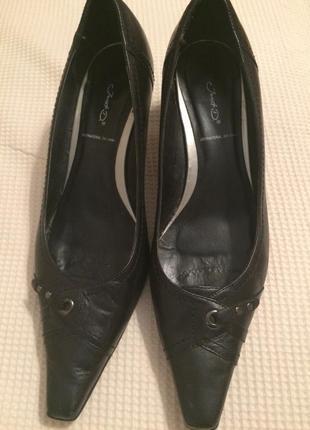 Модельные кожаные туфли