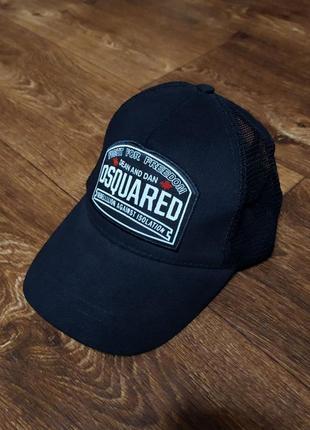 Легкая кепка dsquared2 в сеточку dsquared