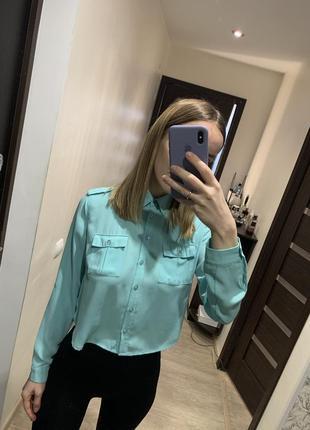 Укорочённая блуза tally weijl