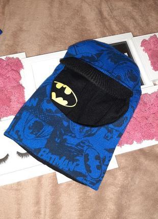 Крутая шапка шлем двусторонняя batman marvel бетмен