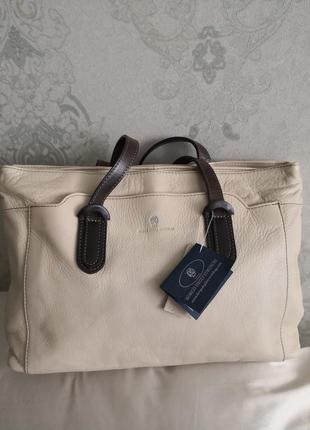 Шикарная кожаная сумка borgo degli etruschi, италия👜👜💥🔥🏵️🌹