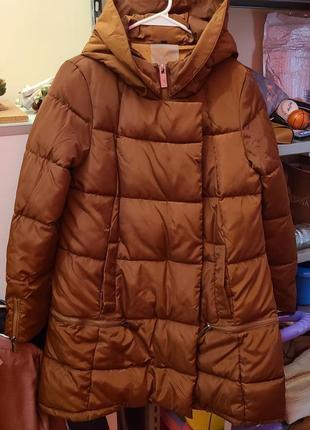 Пальто дутик новое