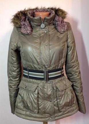 Курточка на синтепоне и с капюшоном /s- m/ brend only