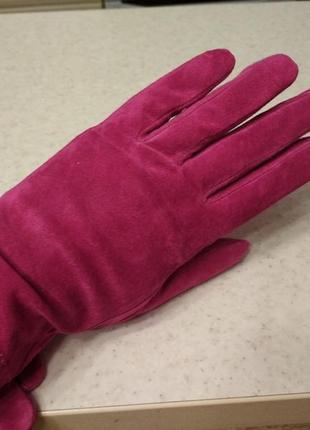Кожаные перчатки,рукавиці ria rossini italy