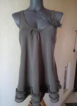 Распродажа!!!блуза 100% вискоза 46-48р