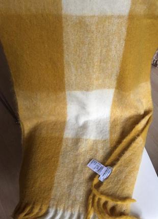 Очень большой шарф-палантин 185 см на 53 см