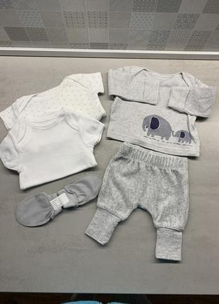 Набір одягу 0-1 місяць