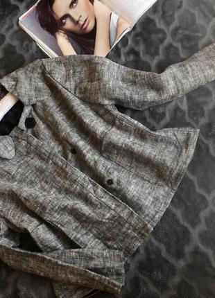 Винтажный укорочённый пиджак-жакет (подиумного стиля)