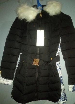 Зимняя куртка пальто очень теплое