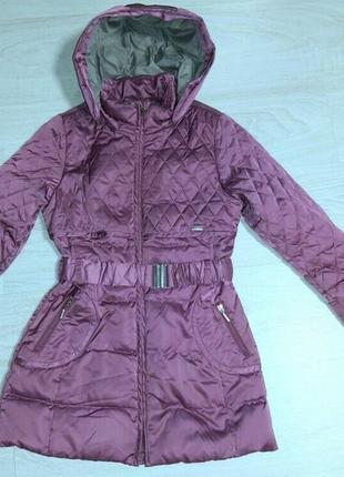 Пуховое пальто geox на девочку