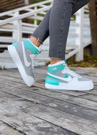 Шикарные женские зимние ботинки топ качество nike ❄️🎁😍