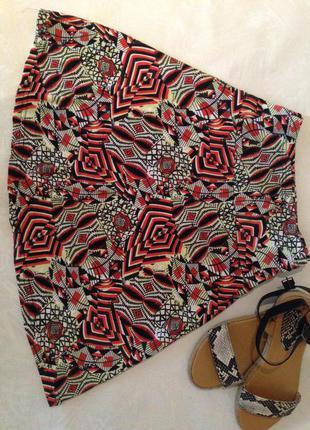Яркая легкая юбка и много моих вещей дешево!