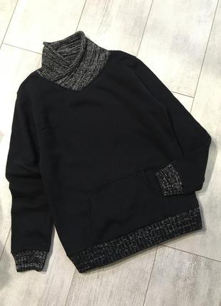 Свитшот на байке тёплый гольф свитер 10-11 лет