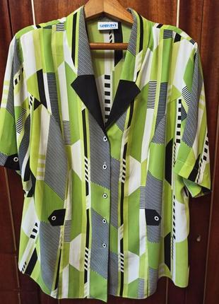 Блузка senstyl. размер 56-58.