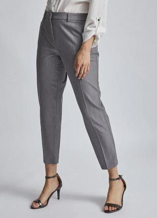 Новые серые укорочённые брюки штаны большого размера dorothy perkins