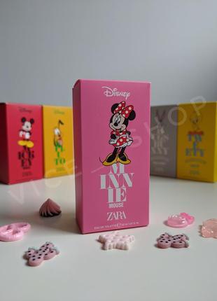 Zara minnie mouse детские духи парфюмерия туалетная вода оригинал испания