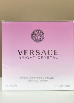 Versace bright crystal парфюмированный дезодорант спрей