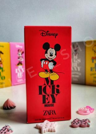 Zara mickey mouse детские духи парфюмерия туалетная вода оригинал испания